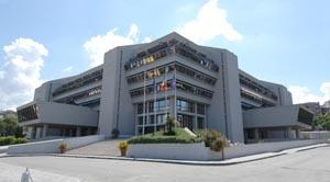 Palazzo Campanella, sede del Consiglio regionale della Calabria, via Cardinale Portanova.
