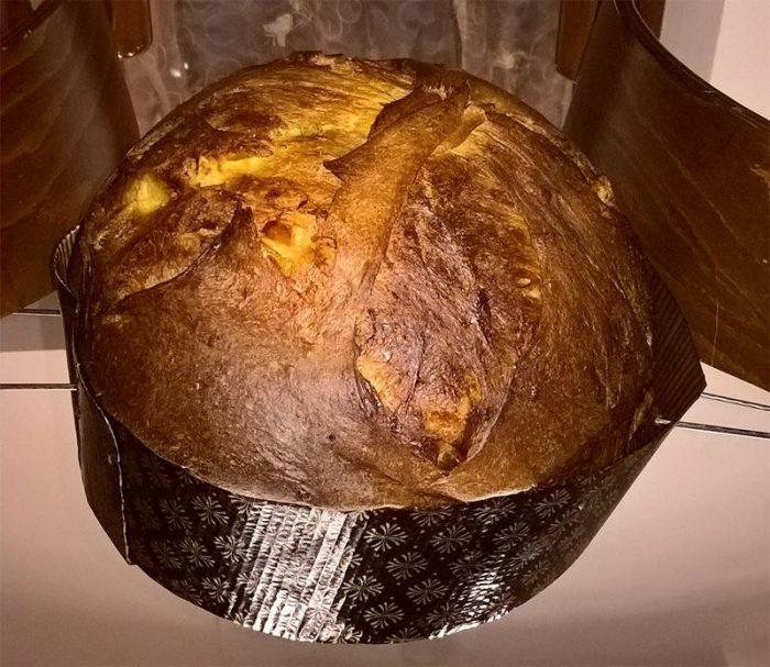 """#panettone realizzato dal #foodbloggers """"Lilla Kitchen"""""""