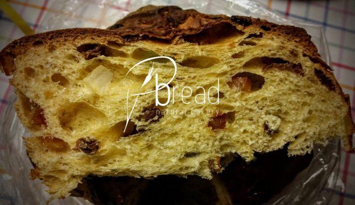 "#panettone realizzato dal #foodbloggers ""Pbread Natural Bakery"""
